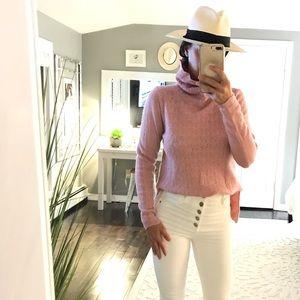 Odd Molly x Anthropologie pink turtleneck size 2